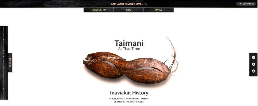 Inuvialuit timeline